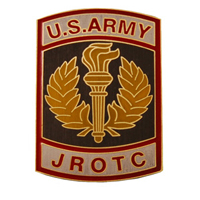 Army Jrotc Crest For Nameplate (Ea)