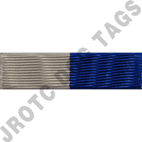 Blue and Grey Ribbon Optional Color Awards (Each)