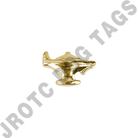 Lamp Ribbon Attachment Gold (Bag Of 100)