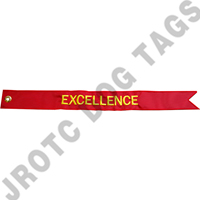 Excellence Streamer Red / Yellow  (Each)
