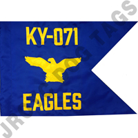 Air Force Guidon Flag with Eagle