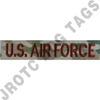 U.S. Air Force Multicam OCP (sew on or hook back) each